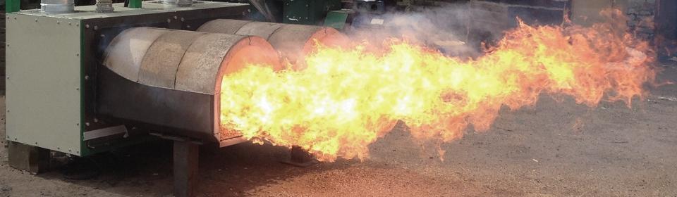 Пеллетная горелка промышленная Авитерм-2000